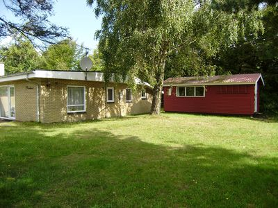 Photo for Ejerslev Lyng/Mors. 80 m2 pleasant concrete holiday house. 100 m. to the beach.