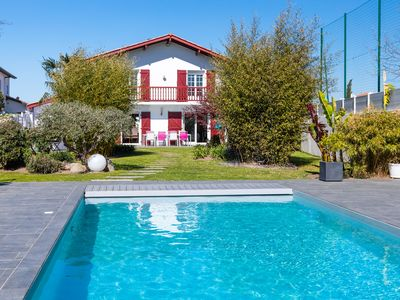 Photo for Lorea - Superb Basque house with swimming pool and garden