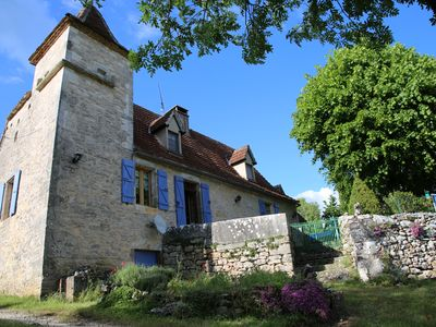 Photo for THE PIGEONNIER QUERCY the charm of a beautiful stone house in the heart of the Lot
