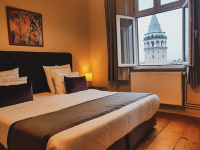 Photo for Historical Apartment Galata Tower and Sea View