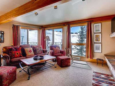 Photo for Ski-in/Ski-out 2 Br Condo- Sleeps 6 People