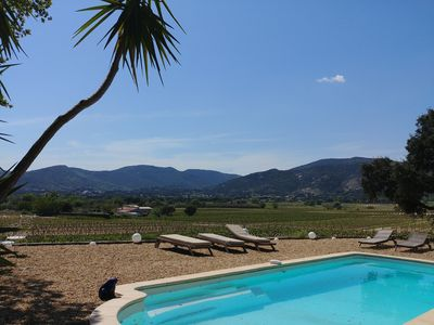Photo for VILLA GOLF ST TROPEZ - SWIMMING POOL, POSSIBILITY OUTINGS BOAT WITH OWNER