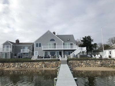 Photo for Fabulous water front home with private  dock & Pier ,  beach & firepit