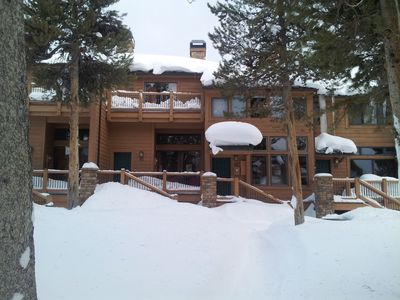 Photo for Ski-in Ski-Out , Walk to Town from Cedars Townhome!