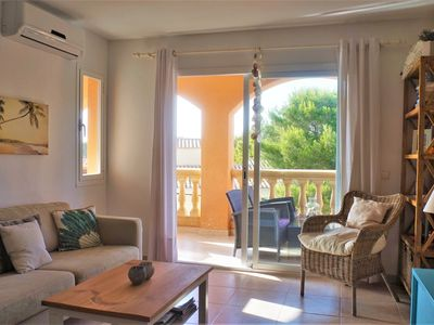 Photo for Cala Pi - Holiday apartment next to the beach