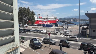 Photo for Ajaccio F2 for 4 people CENTER TOWN seen on the port.