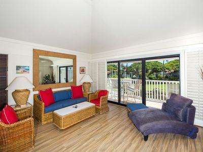 Photo for Open 2-Level Rental w/Super View, Kitchen Ease, WiFi, Lanai–Kiahuna Plantation #2209