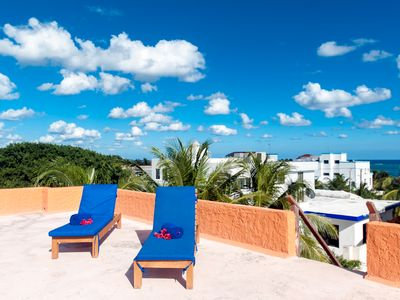 Photo for Large 3 story home with charming Mexican decor, private pool & garden