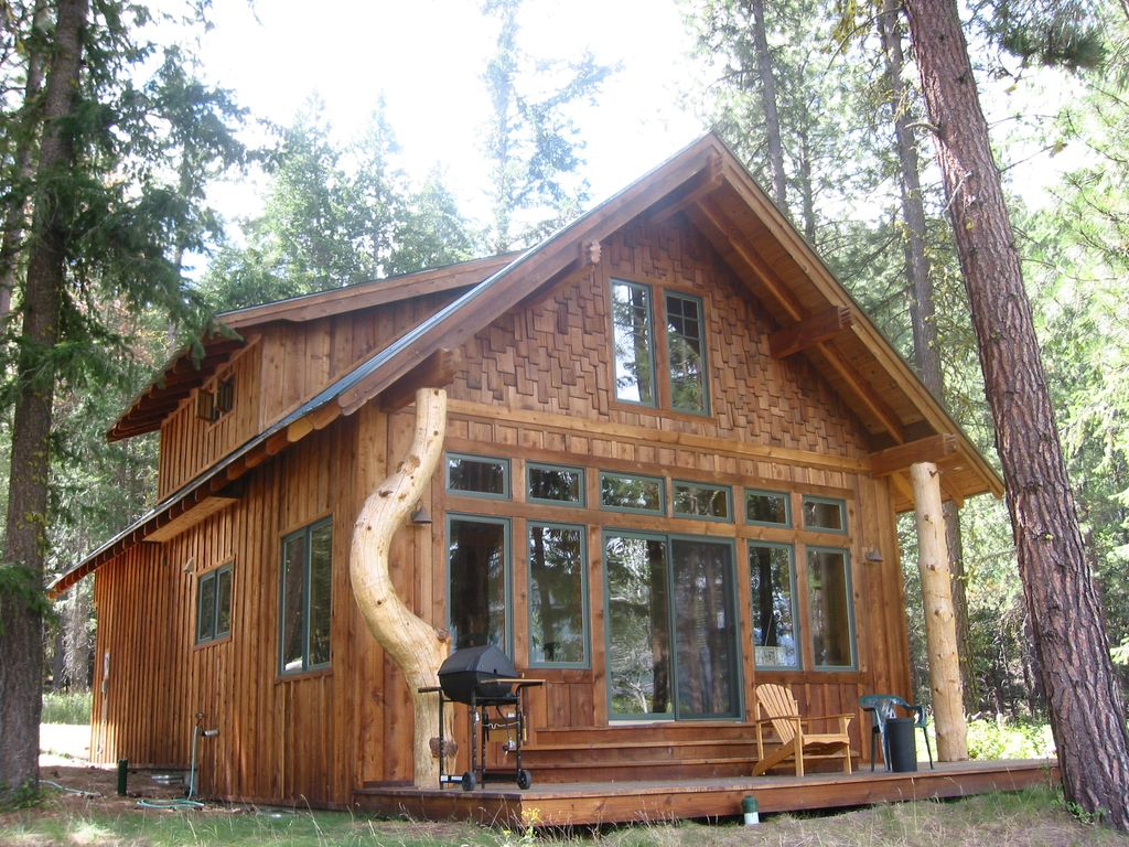 Upper methow valley vacation home winthrop north cascades for Winthrop cabin rentals