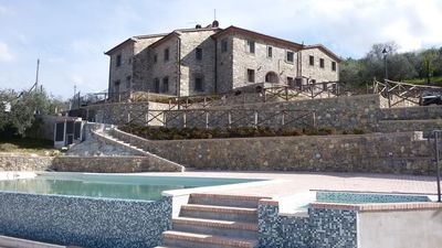 Photo for 4-6-pax apartment Gelso in Farmhouse Sasso Regino, Tuscany Quarrata Buriano