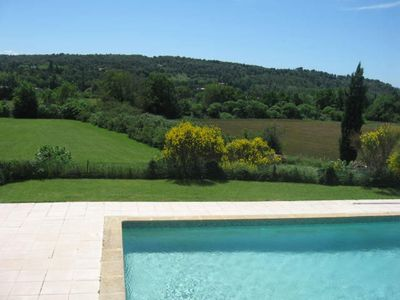 Photo for SAUVAGINE 1 Aix en Provence, swimming pool, countryside. Close to the city. Calm