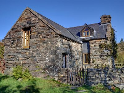 Photo for In Snowdonia National Park on the owners' farm a mile from Penrhyndeudraeth and a few miles from Por