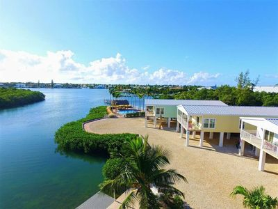 Photo for G Beautiful Luxury Single family home Waterfront in Shelter Bay, Marathon FL