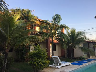 Photo for Quiet and cozy place, 100m from Itaúna Beach, near the surf peak.