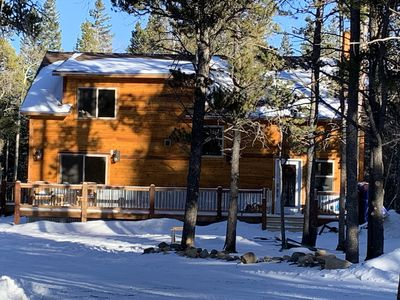 Secluded in tall pines, the Mountain Millhouse is your Rockies Basecamp.