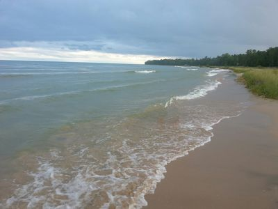 Photo for Merry Breeze 4 Cottage~Romantic Getaway With 212 Ft Of Sandy Lake Michigan Beach