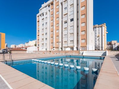 Photo for TIMONET - Apartment with shared pool in Platja Gandia.