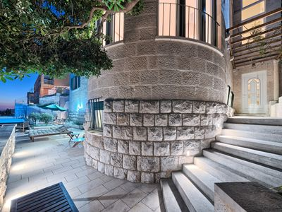 Photo for Exclusive Villa at the city wall of the old town Dubrovnik