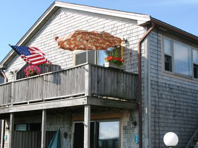 Photo for Provincetown Beach Point 2 Bedroom Condo with Private Beach & AC