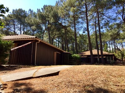 Photo for Pleasant 4-person lodge in the pine forest
