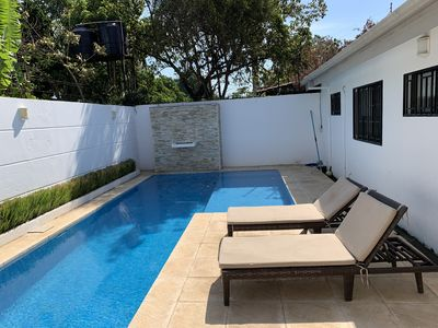 Photo for Gorgeous house with private lap pool in gated community - Managua, Nicaragua
