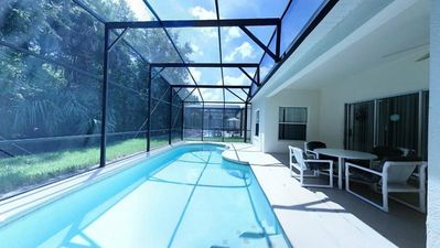Photo for Huge 5 Bedroom, 2 Story Vacation Pool Home with Conservation View and Free WIFI! Elite Vacation Home