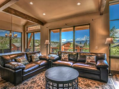 Photo for Brand New Mountain Getaway with Panoramic Views