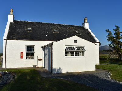 Photo for Old PO House, South Uist. Mountains, Machair, Sea