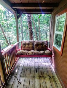 Main Cabin Front Porch