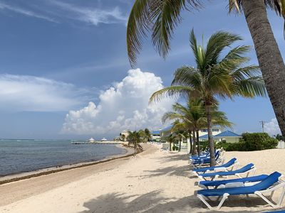 Photo for Picturesque Ocean Views, Beachfront 2 bedroom Condo at the Reef Resort
