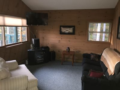 Photo for Cozy Cottage Secluded Wooded Area Outside Shanty Creek Resort - DOG FRIENDLY