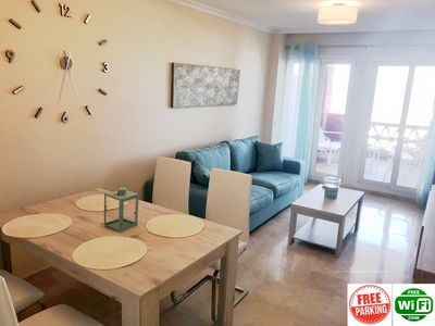 Photo for Manilva Playa luxury apartment with sea view near the beach