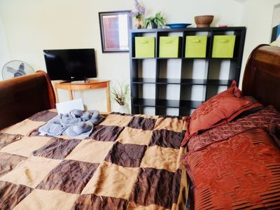 Photo for Microsoft walking distance. Room w/queen bed. Home Sweet Home. TV & Wireless.