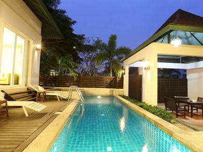 Photo for AnB pool villa with Cozy2BR close to Jom