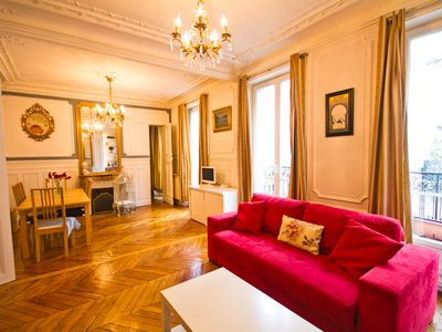 Photo for Ask for -20% Price: Montmartre Big 85m, Historic Charm, Spa Shower, New Kitchen