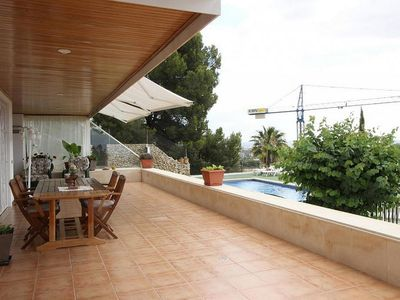 Photo for Luxury villa with breathtaking views of Palma