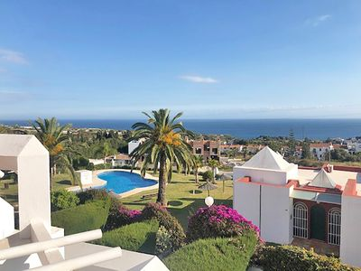 Photo for Alhambra 9, Modern Townhouse with Stunning view in Urb. Alhambra Nerja