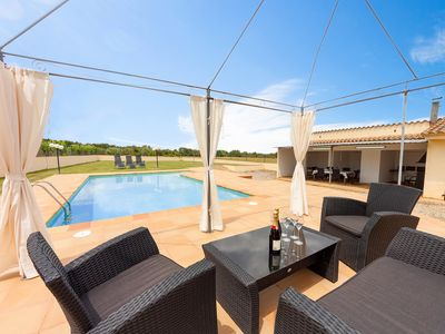 Photo for This 4-bedroom villa for up to 7 guests is located in Gerona / Girona and has a private swimming poo