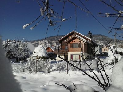Photo for Chalet 10 pers 3 *. near the center and the lake on 750 m² of enclosed land, WIFI
