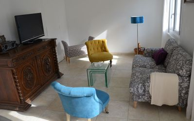 Photo for Basque fisherman's house sleeps 6 Ciboure St Jean de Luz, near the golf course