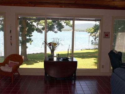 Photo for Newly renovated waterfront home on Smith Mountain Lake