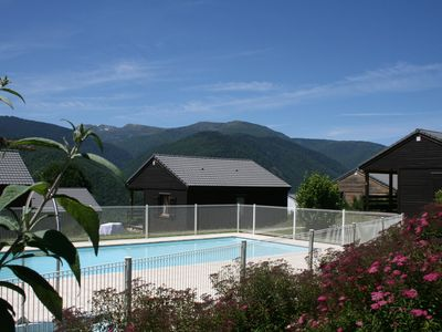 Photo for JoliT2 in holiday residence with pool, near Ax les Thermes