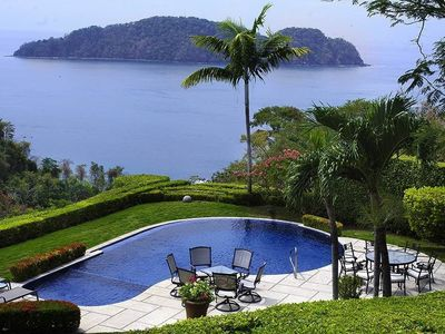 Photo for The Most Stunning Ocean Views Above Los Sueños, With Chauffeur Service 24/7