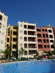 Photo for Beachside Apartment with Private Sun Terrace, Balcony, Shared Pool & Free WiFi.