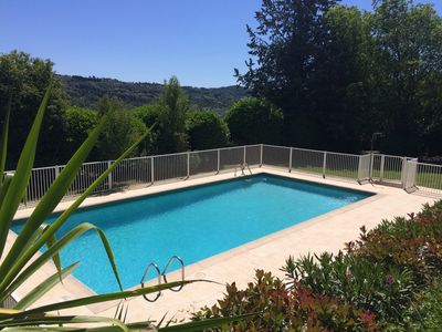 Photo for Provençal villa pool quiet 10 minutes from Cannes
