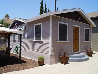 Beautiful 2 BR Victorian Guest House Located On Slope Above Downtown San Diego.