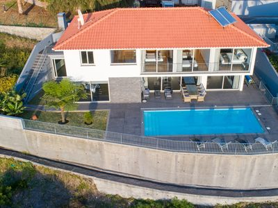 Photo for Villa Panoramica, 4 bedrooms,large Heated swimming pool,unbelievable Seaview