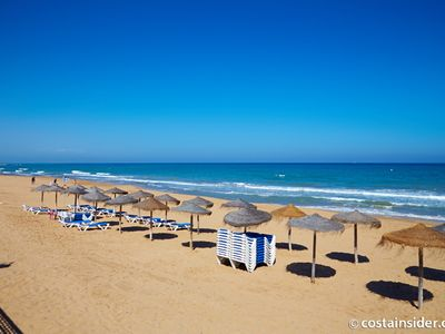 Photo for Ideal For Families, Couples Or Friends - apartment with shared pool, beach near