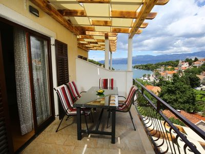 Photo for Apartment Neda  A3(4+1)  - Splitska, Island Brac, Croatia