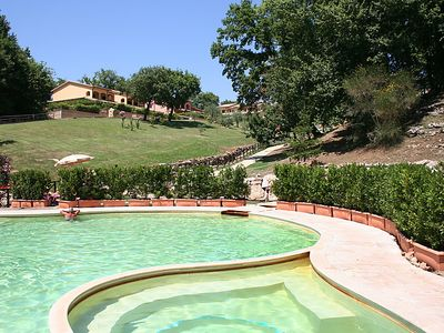 Photo for 4 bedroom Villa, sleeps 10 in Pitigliano with Pool and WiFi